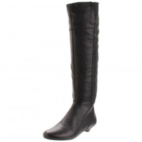 """Nine West Women's """"Perla"""" Black/Brown Leather Boot"""