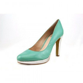 Vince Camuto Women's Berlina Green Leather Pump