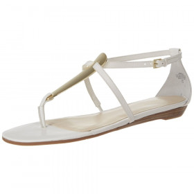 Weslie White Nine West Sandal