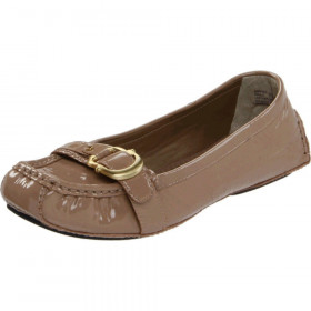 Me Too Women's Gina Brown Driftwood Patent Flat