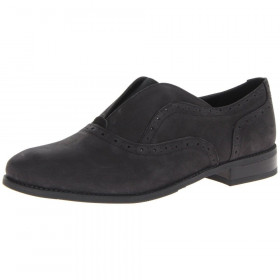 Franco Sarto Jenson Black Leather Slip-on Loafer