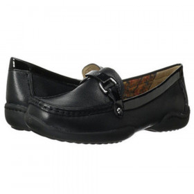 Cailley Black Anne Klein Loafer Flat