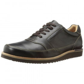Rockport Men's Eastern Empire Mudguard Oxford Dark Chocolate