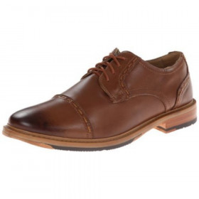 Rockport Men's Parker Hill Tan Leather Cap Toe Oxford