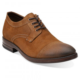Delsin View Tan Su Mens Clarks