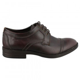 Delsin View Burgun Mens Clarks