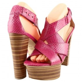Mary Pink Via Spiga Platform Sandals