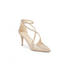 Nine West Women's Peacesign Taupe Dress Pump