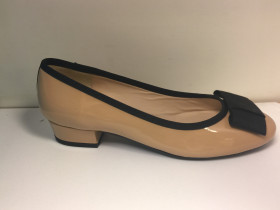Emma Beige Patent Leather Jon Josef Pump