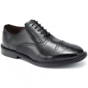 Rockport Men's Fair Oaks Black Leather CapToes