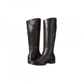 Franco Sarto Women's Clarity Black Leather Boots
