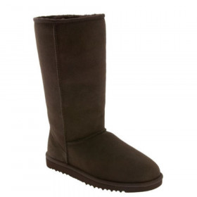 UGG Australia Womens 5815 Classic Tall Slip On Boot Chocolate