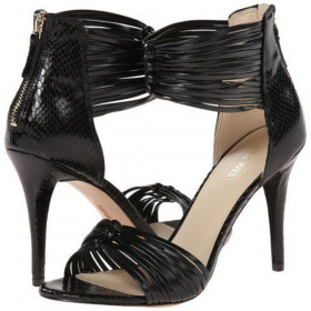 Dechico Black Nine West Sandal