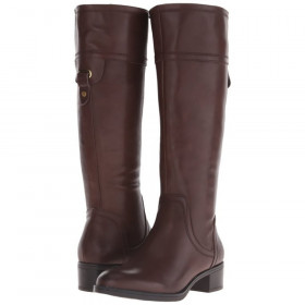 Franco Sarto Women's Carlano Brown Leather Boots