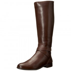 Franco Sarto Women's Majesta Brown Leather Boots