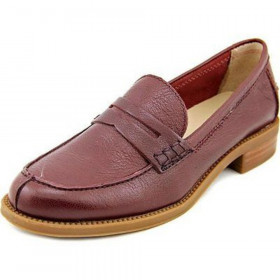 Franco Sarto Women's Tyce Bordo Leather Loafer Flat