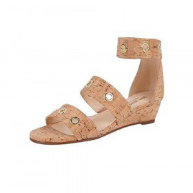 Right Natural Cork Jon Josef Wedge Sandal