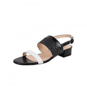 Jon Josef Womens Lila Black Leather Sandal