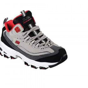 11942 Dlites Red Gray Skechers