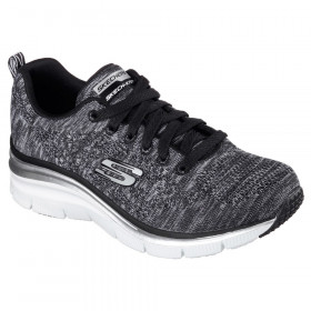 12703 Fit Style Black White Skechers