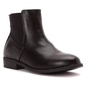 Carver Black Wanted Ankle Boot