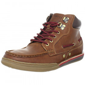 K62254 Morgan Coast Tan Red Leather Rockport Boot