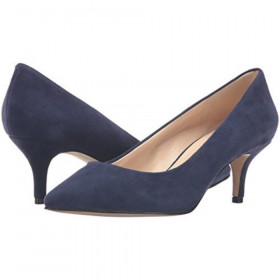 Xeena Dark Blue Suede Nine West Pump