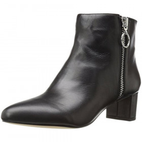 Krimp Black Leather Nine West Bootie