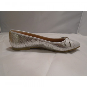 Rotate Silver Snake FS/NY Womens Flat