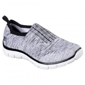 12419 Empire Inside Look Black White Skechers