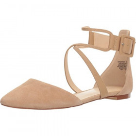 Zaydah Natural Nine West Flat