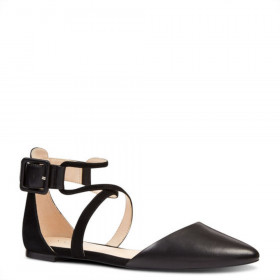 Zaydah Black Nine West Flat