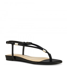 Rivers Black Nine West Sandal