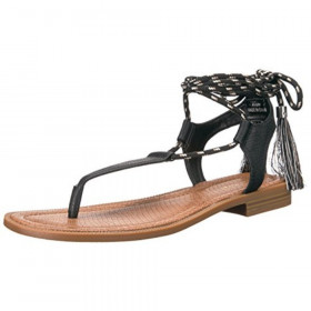 Gannon Black Nine West Sandal