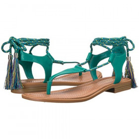 Gannon Turquoise Green Nine West Sandal