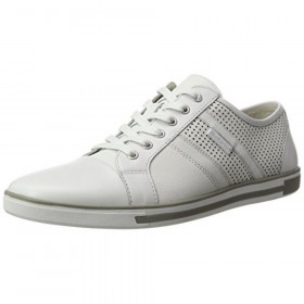Initial Step White Kenneth Cole