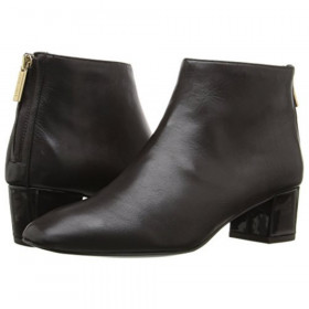 Anna Brown Leather Nine West Bootie
