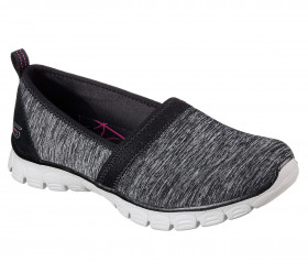 23436 EZFLEX SWIFT MOTION Black and Gray Skechers