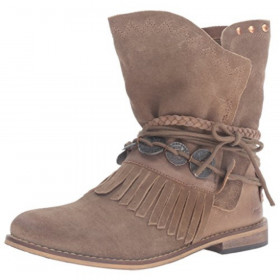 Anaeh Brown Musse & Cloud Ankle Boot