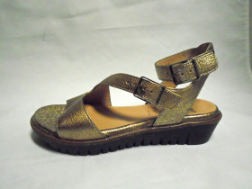 C3002 Oro Gold Wonders Sandals