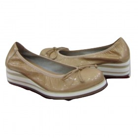 C3801 Taupe Wonders Wedge Pump