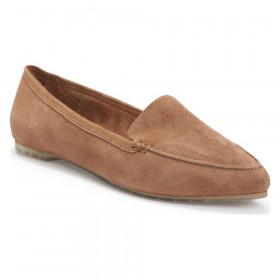 Audra Chestnut Suede Me Too Flat