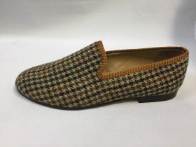 Brown Green Suede Resipsa Loafer
