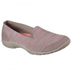 23110 Empress Taupe/Pink Skechers