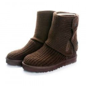 5819 Chocolate Short UGG Boots