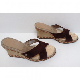 Margot Chocolate UGG Wedge Sandal
