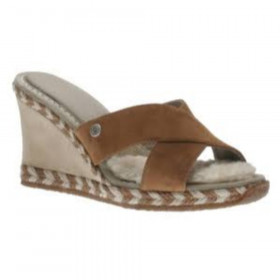 Margot Chestnut UGG Wedge Sandal