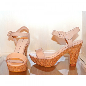 Ewise Nude Patent Sacha London