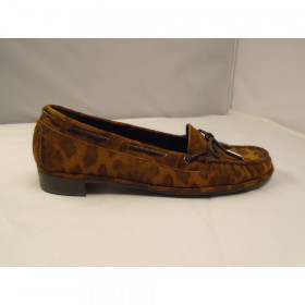 Braidy Bow Brown Leopard Stuart Weitzman I-1-111574