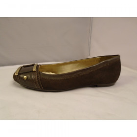 Alloy Brown Suede FS/NY Flat I-1-111587